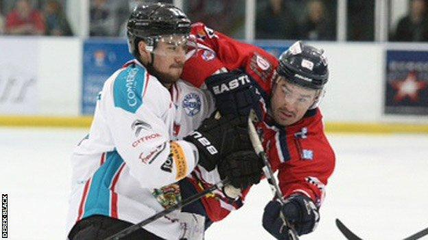The Belfast Giants opened the competitive season with a 4-1 win over Dundee Stars