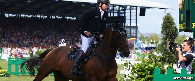 Big Star, seen here ridden by Nick Skelton, is one of the stars of London 2012 who is missing through injury