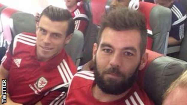 Gareth Bale and Joe Ledley