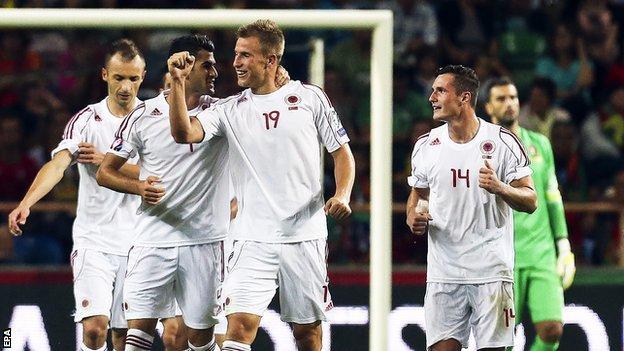 Portugal v Albania