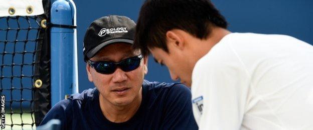 Michael Chang and Kei Nishikori