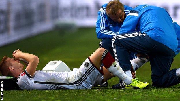 Germany midfielder Marco Reus