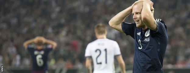 Scotland striker Steven Naismith