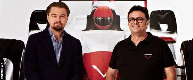 Leonardo DiCaprio (left)
