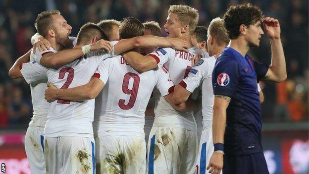 Czech Republic v Netherlands