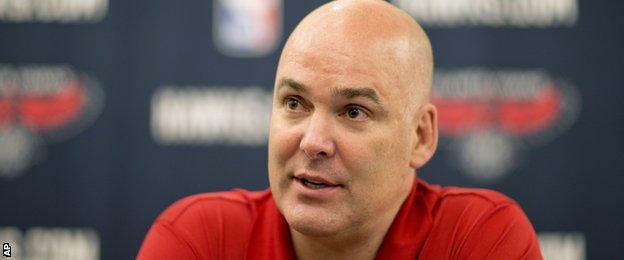 Atlanta Hawks general manager Danny Ferry
