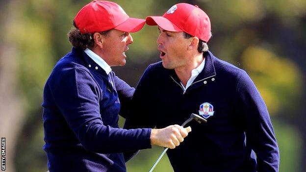 """""""Phil Mickelson, not having Tiger there, will be the undisputed number one captain/player in the team room."""""""
