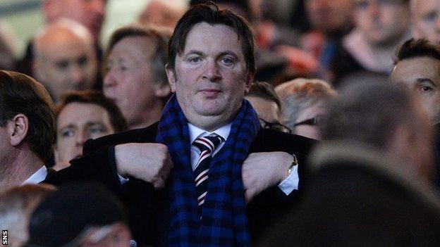 Rangers football board chairman Sandy Easdale