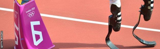 Oscar Pistorious blades