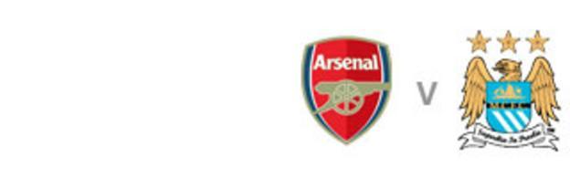 Arsenal v Man City badge