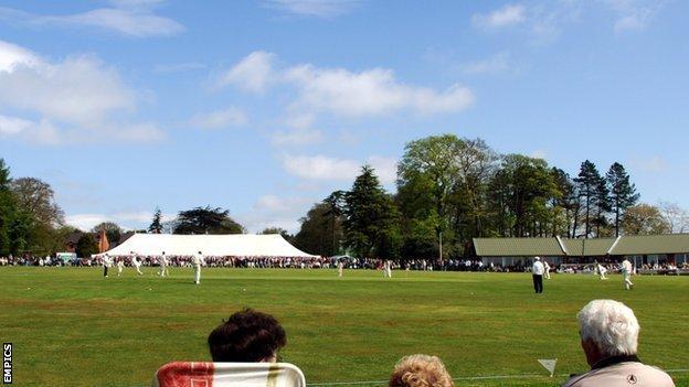 Highfield cricket ground, Staffordshire