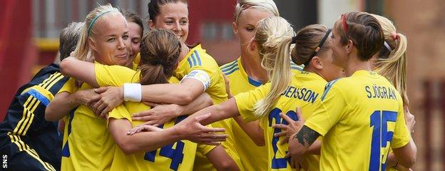 Sweden proved too strong for Scotland when the sides met in World Cup qualifying at Fir Park