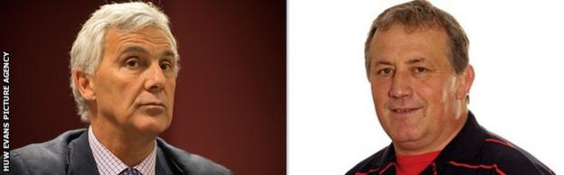 Gareth Davies and Anthony Buchanan were elected to the WRU board