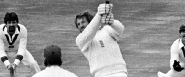 Ian Botham during his famous 149 not out at Headingley in 1981