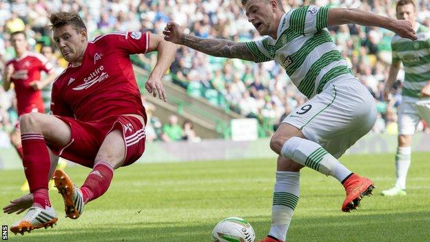 Celtic's recent signing John Guidetti