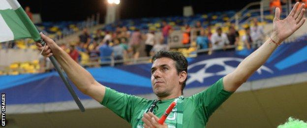 Ludogorets fan