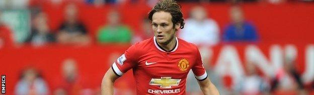 Manchester United midfielder Daley Blind