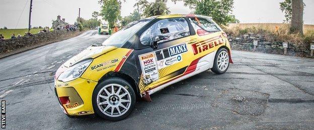 Daniel McKenna and Arthur Kierans took the British Rally Championship title