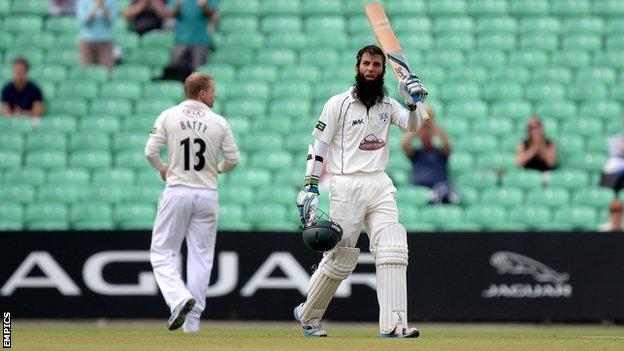 Moeen Ali, Worcestershire and England
