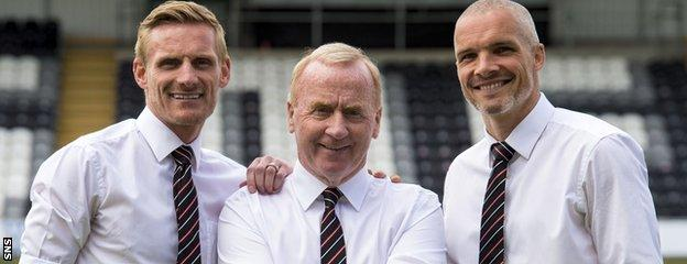 Gary Teale, Tommy Craig and Jim Goodwin