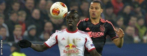 Sadio Mane left Salzburg to join Southampton for £10m