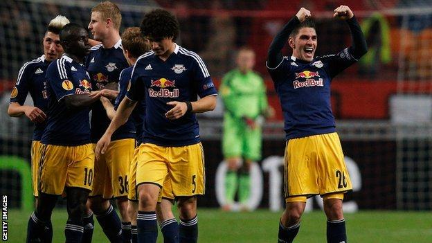 Red Bull Salzburg are Celtic's first Europa League opponents in Group D
