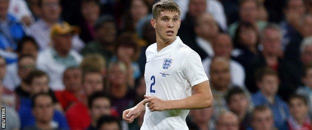 England defender John Stones