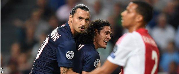 Ajax v Paris St-Germain