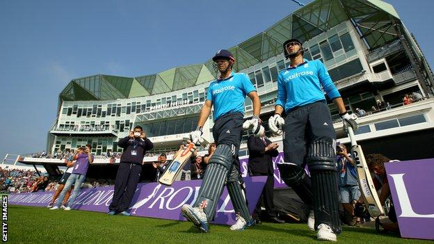 Alastair Cook and Alex Hales