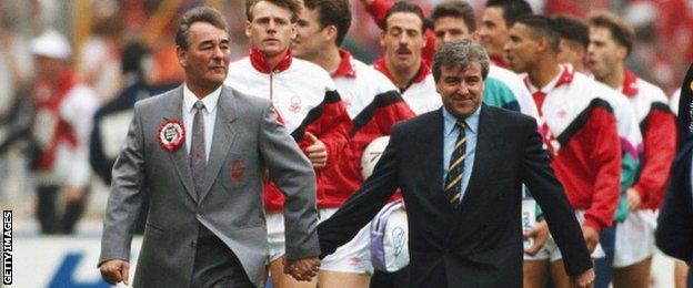 Brian Clough and Terry Venables