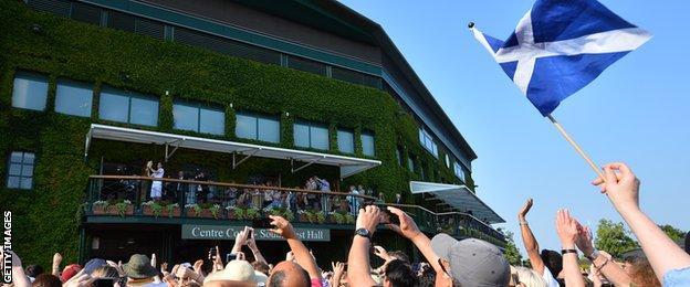 Andy Murray wins Wimbledon