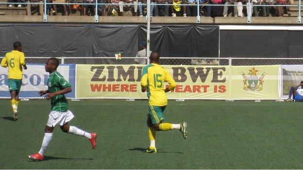 Rufaro Stadium in Harare