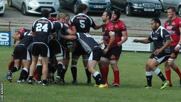 Cornish All Blacks against Redruth