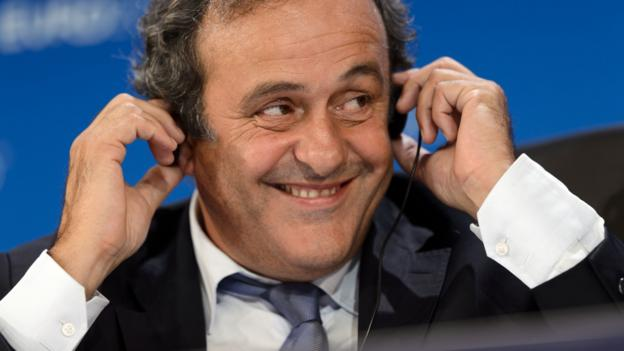 Michel Platini 'surprised' by Fifa timing on watch controversy
