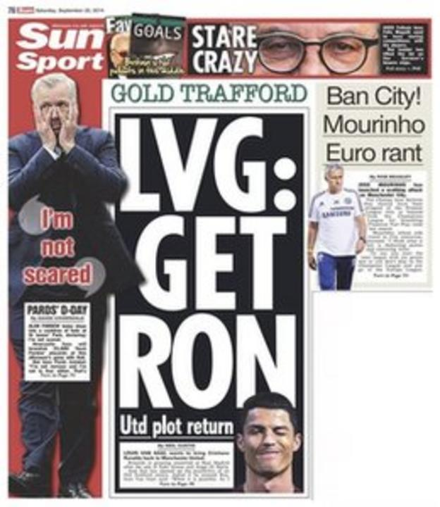 The Sun's backpage