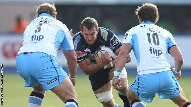 Sam Warburton played in three Cardiff Blues games in a row before being rested