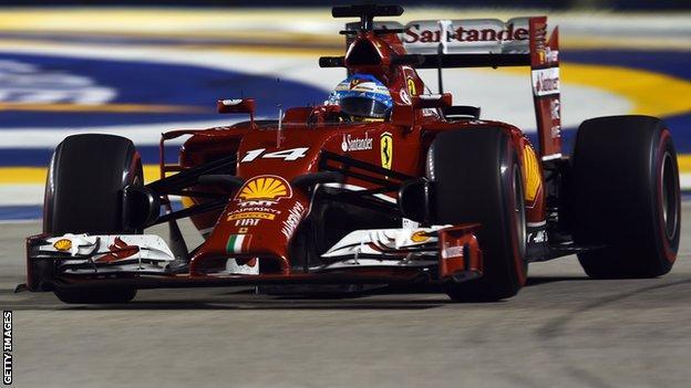 Fernando Alonso_ Singapore Grand Prix