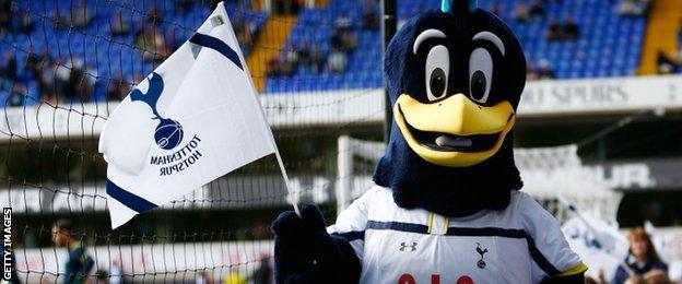 Tottenham mascot