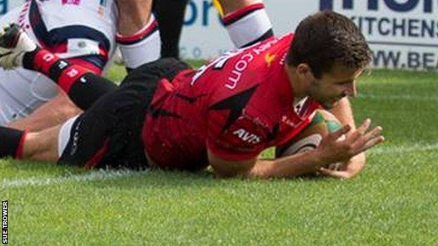 Jersey full-back Bell continued his fine early season form with two more tries for the islanders