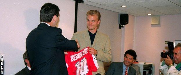 Dennis Bergkamp was an avid reader of Ceefax during the 1990s