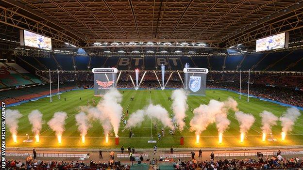 The WRU has already reserved the Millennium Stadium in April 2015 for another Judgement Day