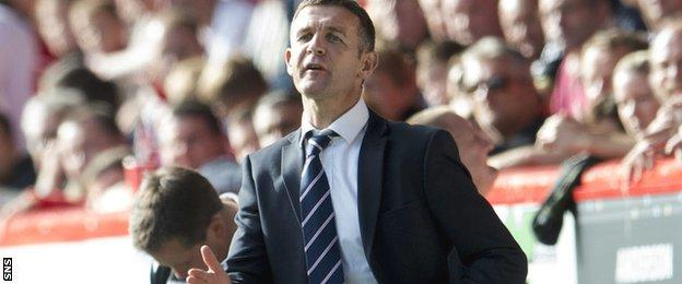 Ross County manager Jim McIntyre