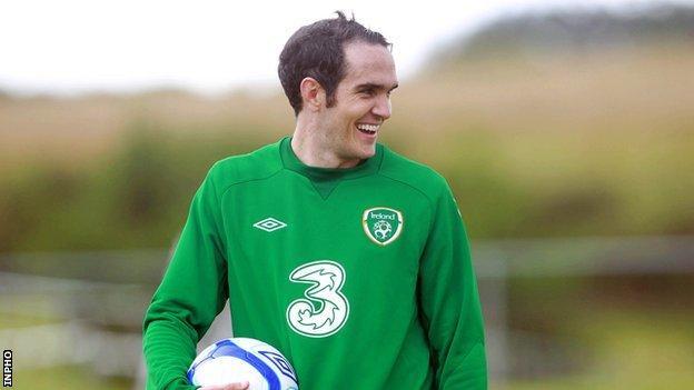 West Ham midfielder Joey O'Brien