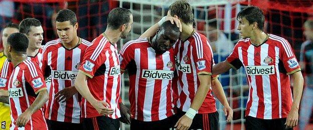 Sunderland scored first against Stoke through Jozy Altidore