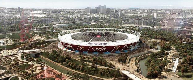 West Ham's new hope at the Olympic Stadium