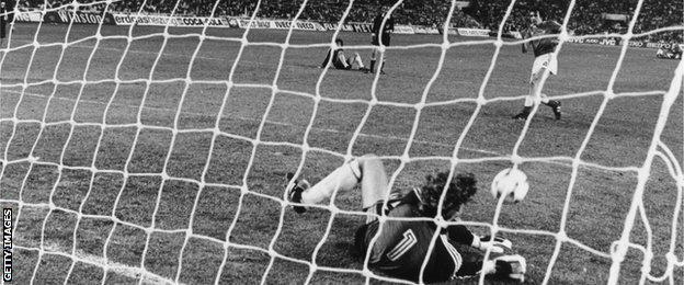 West German beat France in 1994