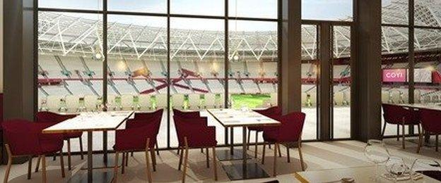 West Ham launched Club London members scheme - with hospitality for 3,700 spectators