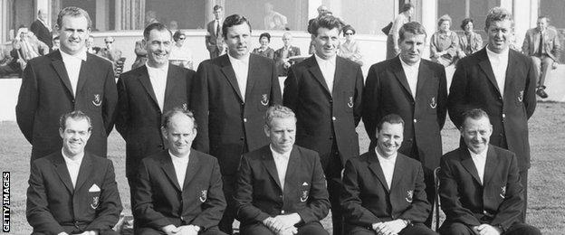 1965 GB and Ireland Ryder Cup team