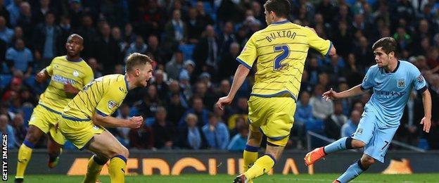 Spanish teenager Jose Angel Pozo sweeps home City's sixth on his debut