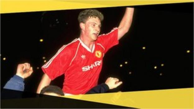 Manchester United's Mark Robins